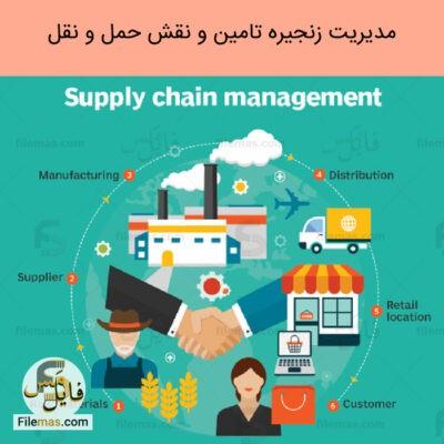 پاورپوینت مدیریت زنجیره تامین pdf و نقش حمل و نقل در توسعه پایدار و لجستیک