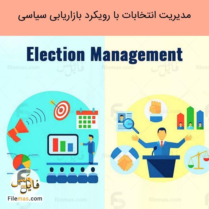 پاورپوینت مقاله مدیریت استراتژیک انتخابات با رویکرد بازاریابی سیاسی