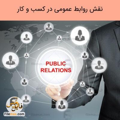 پاورپوینت مقاله نقش روابط عمومی در بازاریابی – خلق برند و پایدار کسب و کارها