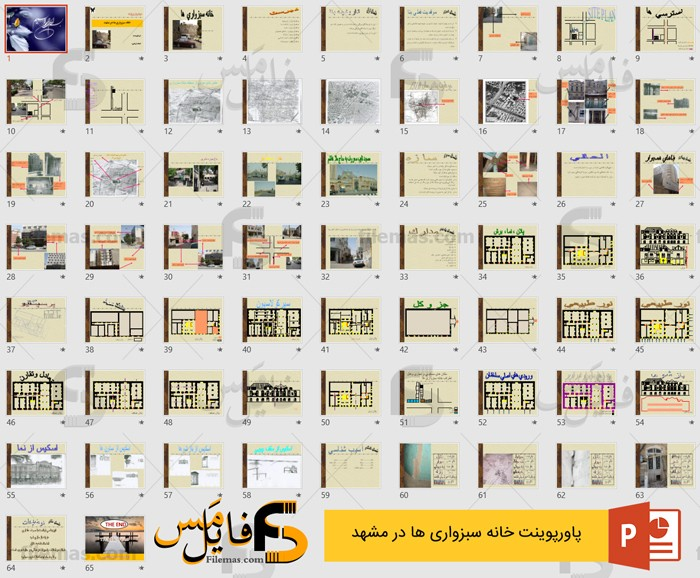 پاورپوینت خانه سبزواریها در مشهد (تعمیر و نگهداری خانه سبزواری ها)