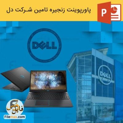پاورپوینت زنجیره تامین شرکت دل | مدیریت نوین در کمپانی Dell