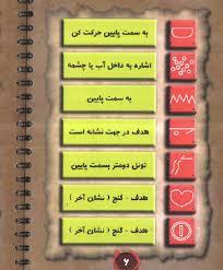 کتاب رمزیاب نماد های گنج و دفینه
