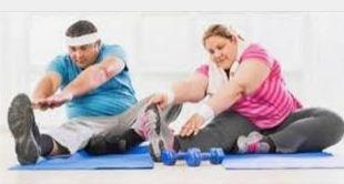 پاورپوینت تاثیر ورزش بر چاقی و اضافه وزن