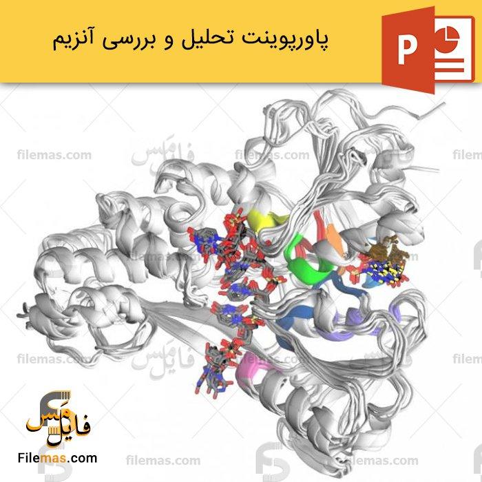 پاورپوینت درباره آنزیم و انواع آنزیم ها