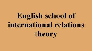 پاورپویت نقد و ارزیابی نظریه مکتب انگلیسی در روابط بین الملل