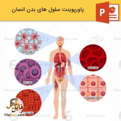 پاورپوینت سلول های بدن انسان و بررسی بافتهای پوششی